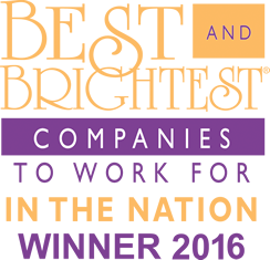 National Best and Brightest Companies to Work For - Winner 2016